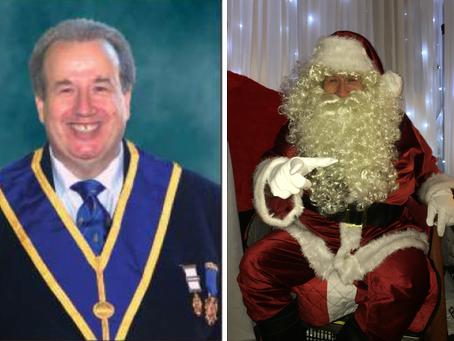 Mark Doubles as Santa