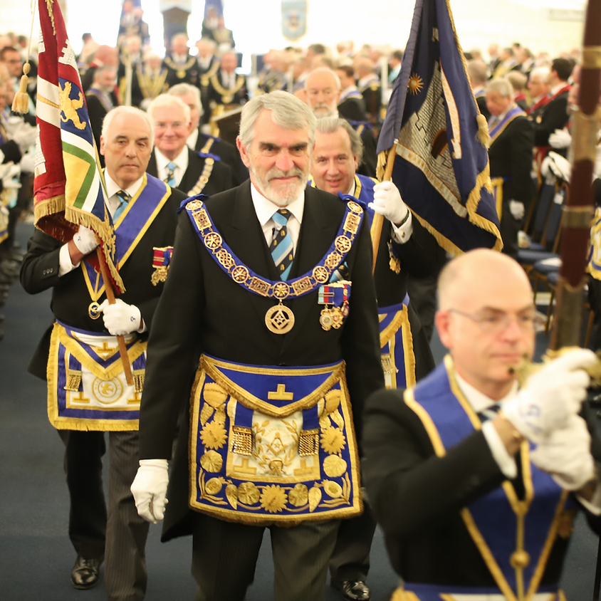 PROVINCIAL GRAND LODGE OF WARWICKSHIRE - ANNUAL MEETING - 2019