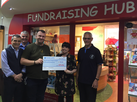 St Blaise supports the Children's Cancer Ward