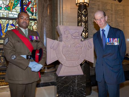 Victoria Cross Memorial at Freemason's Hall