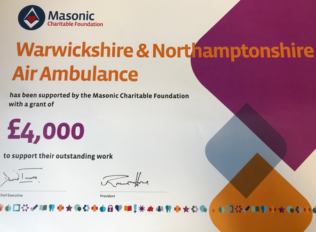 AN EXTRA £4,000.00 FOR THE AIR AMBULANCE