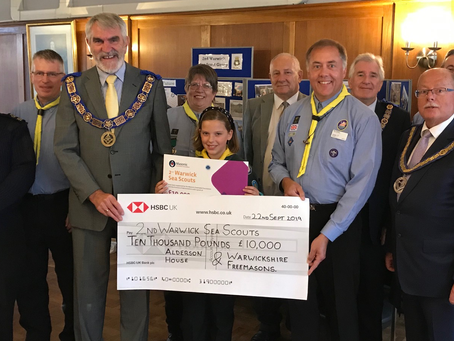 Supporting the 2nd Warwick Sea Scouts