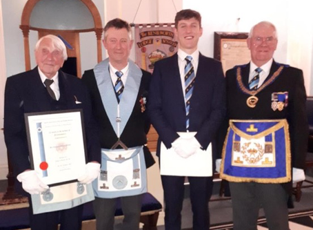 Double Celebration at Kenilworth Lodge
