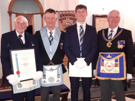 Double Celebration at Kenilworth Lodge