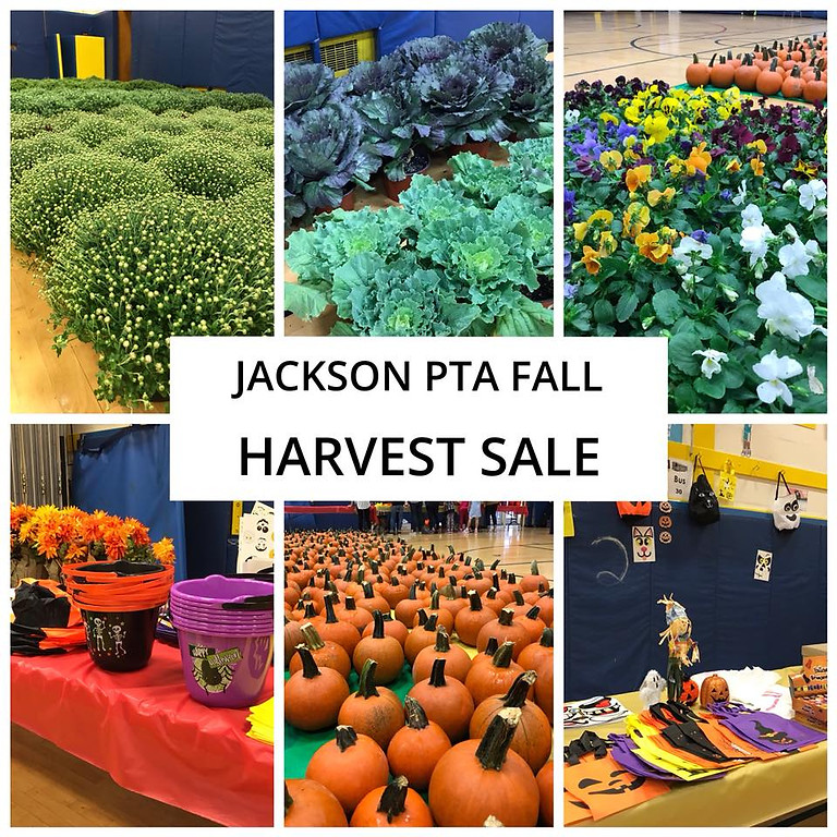 FALL HARVEST SALE ( This event is postponed )