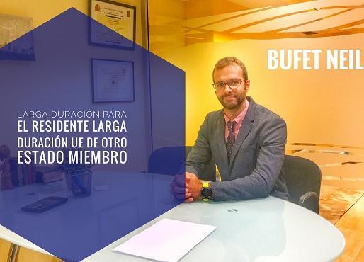 RESIDENCIA DE LARGA DURACIÓN EN ESPAÑA DEL RESIDENTE DE LARGA DURACIÓN UE DE OTRO ESTADO MIEMBRO