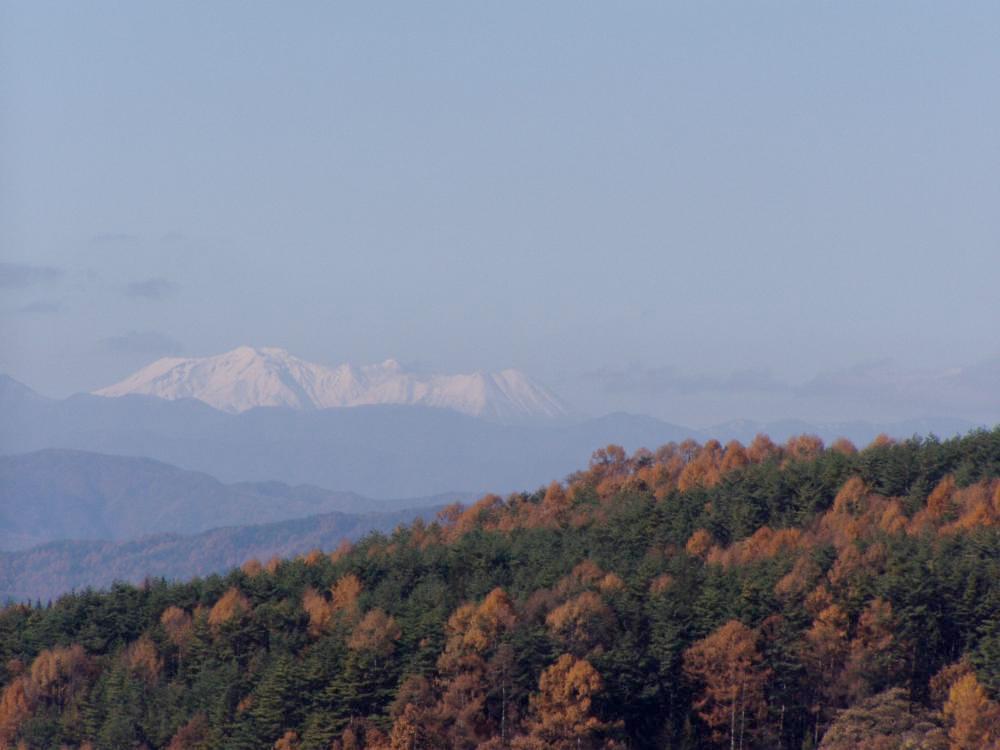 御嶽山 秋