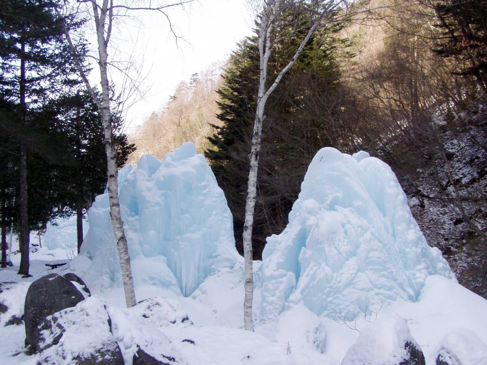 自然園・氷瀑