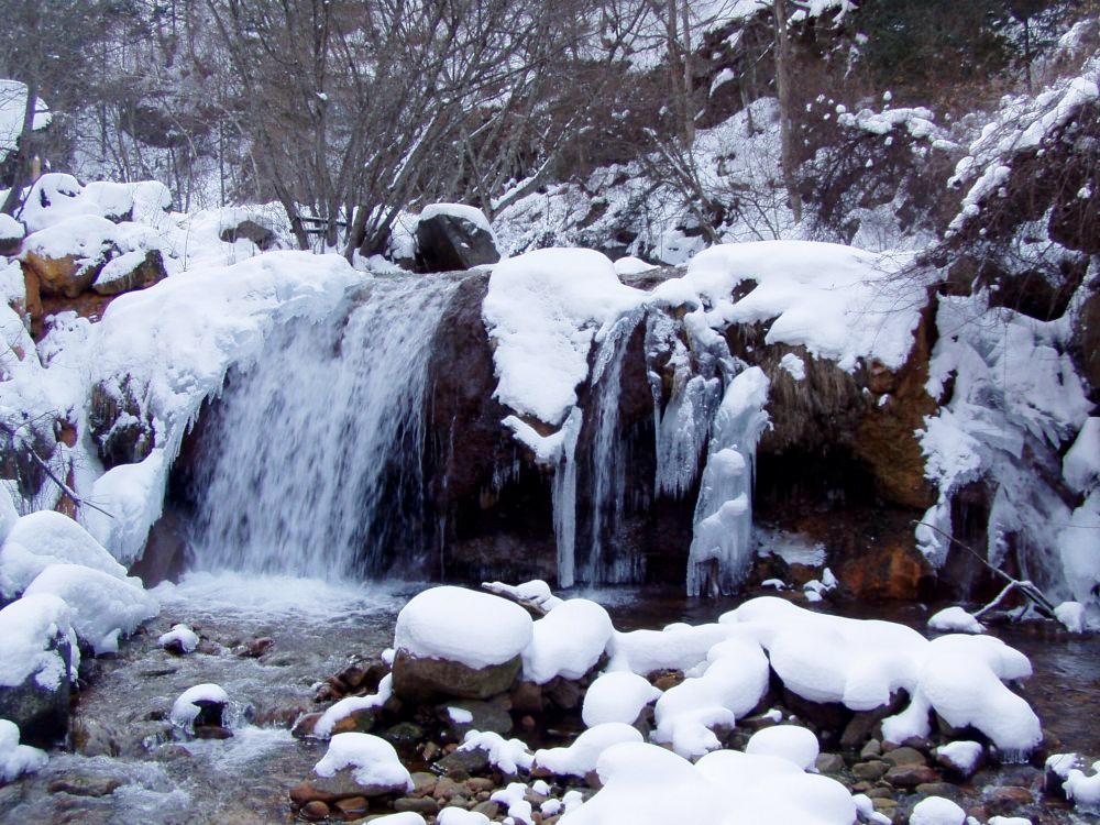 冬霧降の滝