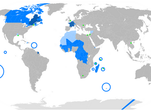 O idioma francês ao redor do mundo