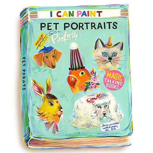 I can paint pet portraits