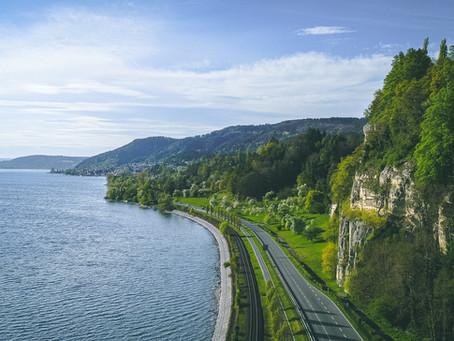 E-Bike Tour entlang der Klippen von Goldbach