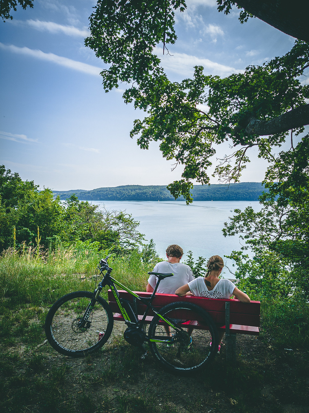 Mit dem E-Bike entspannt am Bodensee entlang