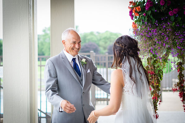 Madison WI Wedding Photographer Bride and Father of the Bride