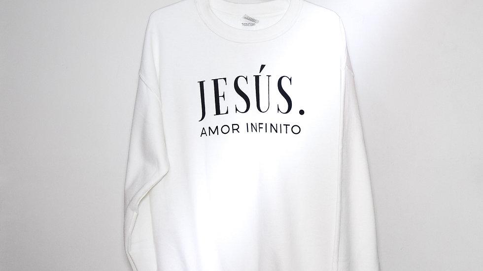 "______S U D A D E R A · B L A N C A______         ""Jesús: Amor Infinito"""