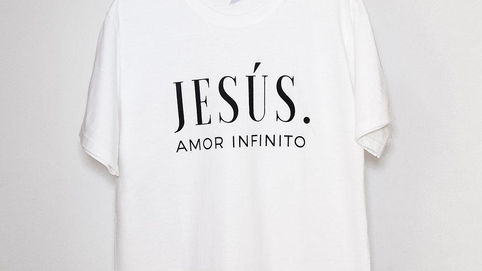 "______P L A Y E R A · B L A N C A______         ""Jesús: Amor Infinito"" Caballero"