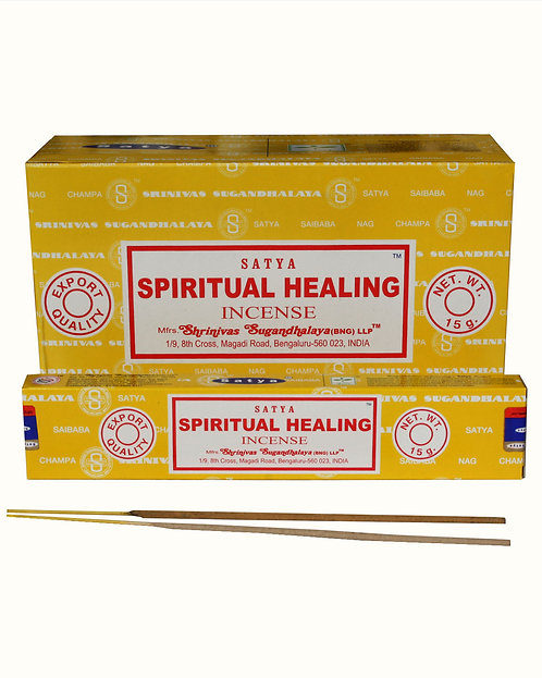 INCENSO NATURAL SATYA - SPIRITUAL HEALING