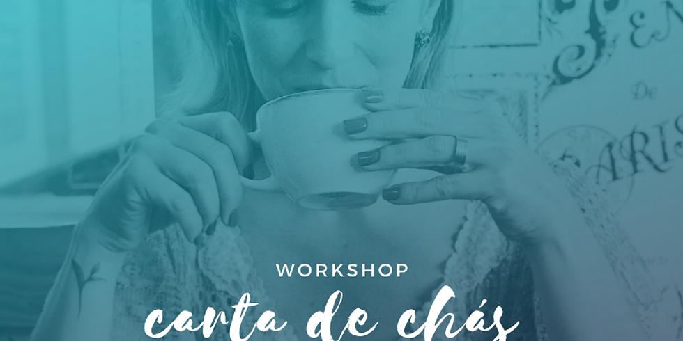 CARTA DE CHÁ DO CAFÉ ZAZEN