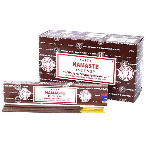 INCENSO NATURAL SATYA - NAMASTE