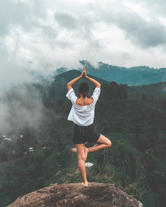 Yoga para alívio do estresse?