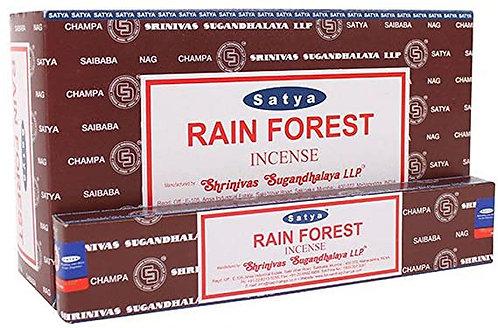 INCENSO NATURAL SATYA - RAIN FOREST