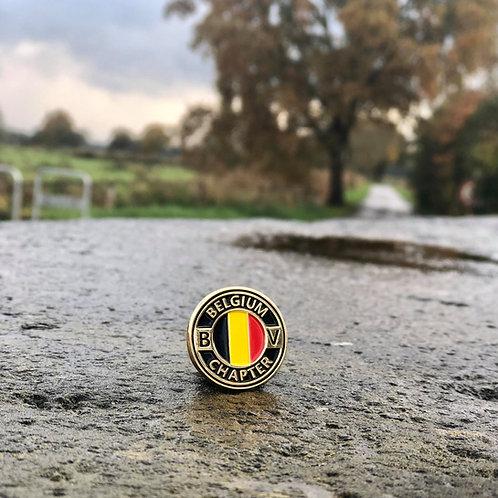 Bearded Villains Belgium Chapter Pin