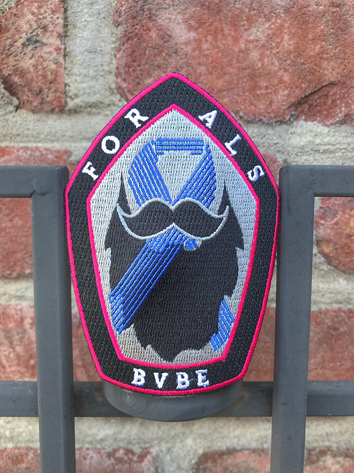 Bearded Villains Belgium for ALS - Patch