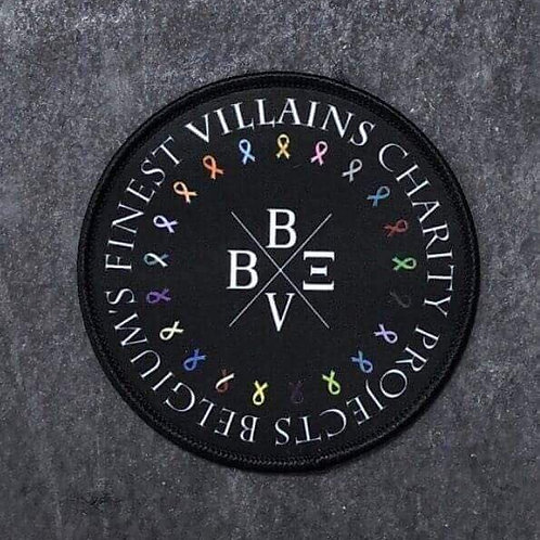Bearded Villains Belgium Charity Projects Patch
