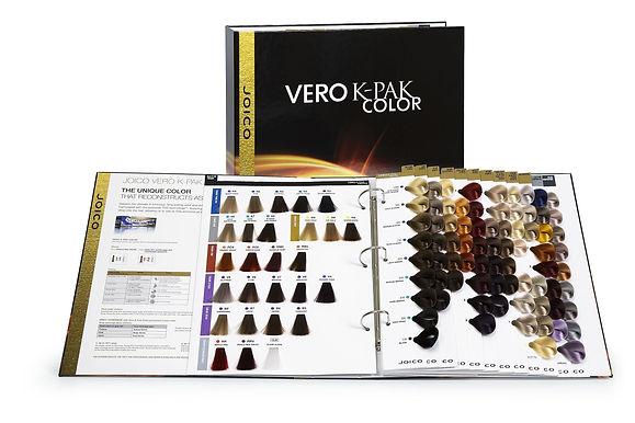 Joico Vero K-Pak Color Swatchbook XPV1602