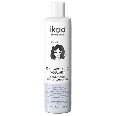 IKOO - Don't Apologize, Volumize Conditioner 250ml