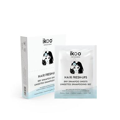IKOO - Infusions - Fresh-Ups(8pc) - Dry Shampoo Sheets