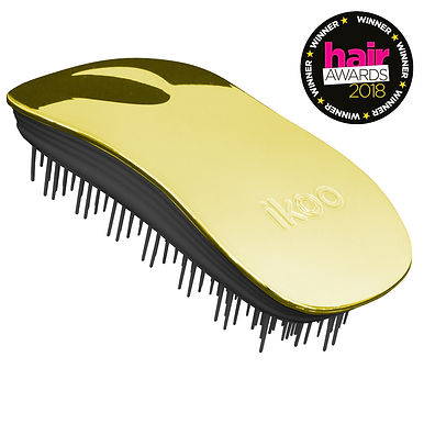 IKOO - Metallic Home Brush Black Body - SOLEIL