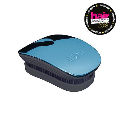 IKOO - Metallic Pocket Brush Black Body - PACIFIC