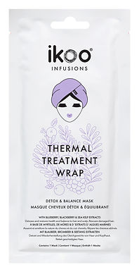 IKOO - Infusions - Thermal Hair Treatment Wrap (15pc) - Detox & Balance
