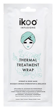 IKOO - Infusions - Thermal Hair Treatment Wrap (15pc) - Hydrate & Shine