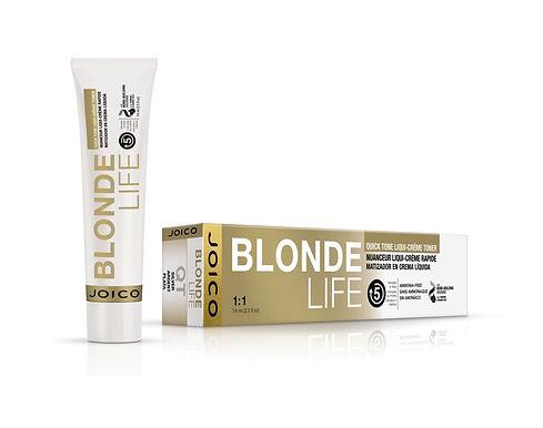 BLONDE LIFE Quick Tone Liqui-Crème Toners - Clear