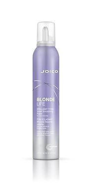 BLONDE LIFE Brilliant Tone Violet Smoothing Foam
