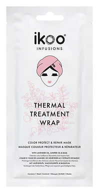 IKOO - Infusions - Thermal Hair Treatment Wrap (15pc) - Color Protect & Repair