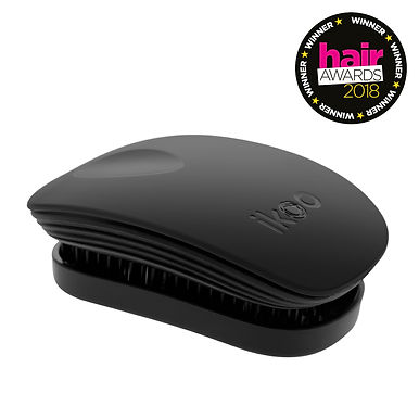 IKOO - Classic Pocket Brush - BLACK