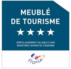 Meublé de tourisme quatre 4 étoiles Oléron