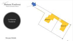 Plan des 2 maisons