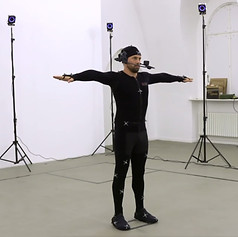MOTION CAPTURE FOR A TV FEATURE