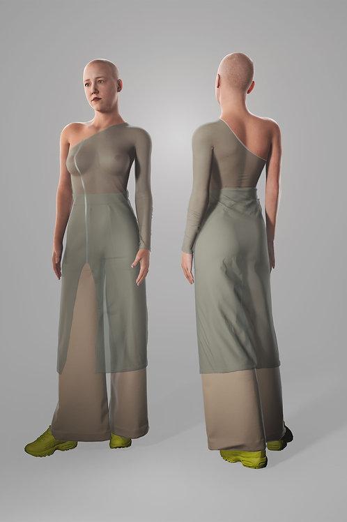 ASYM DRESS