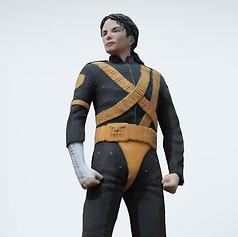 3D PRINT FOR MICHAEL JACKSON