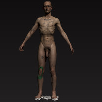 All Industries, Body, Scan, Texture Mapping, Nude