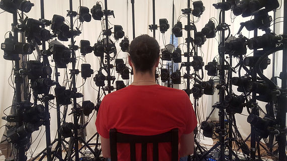 photogrammetry, facial Scanning, human scanning, camera, 3d photobooth, character scanning