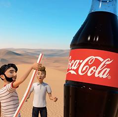 FULL 3D PRODUCTION FOR COKE TV