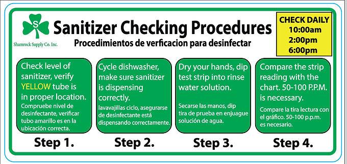 4 Step Procedure Decal Sheet (40 Decals)
