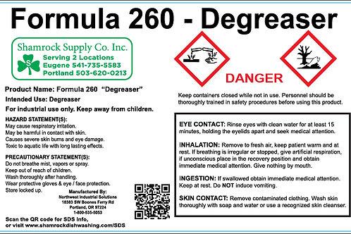 Formula 260 Spray Bottle Labels (Sheet of 10)