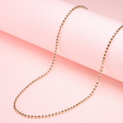 9k Ball Diamond Cut Chain